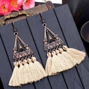 NWT Boho Tassel Earrings